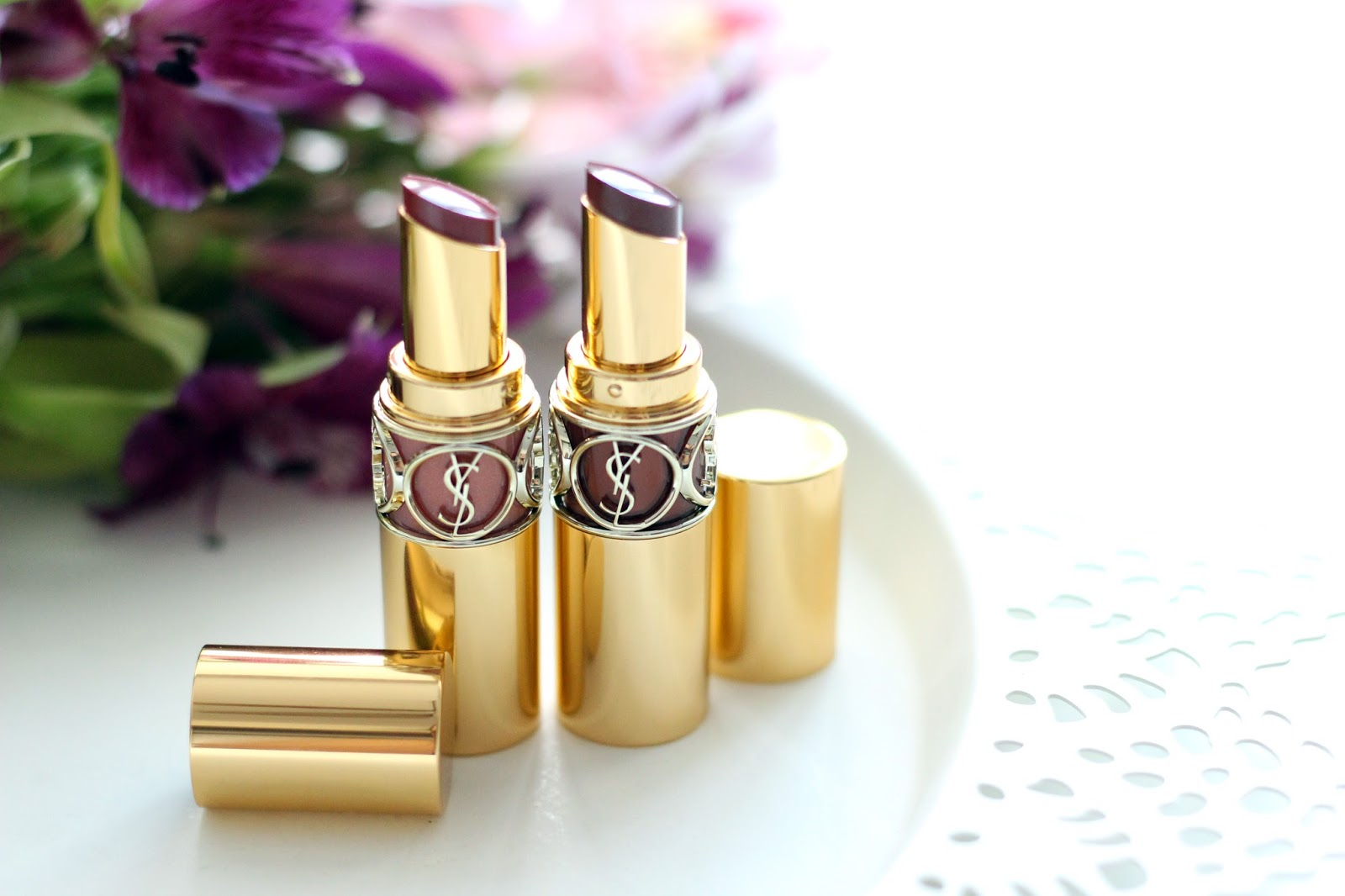 ysl yves saint laurent volupte shine lipstick review by bulgarian beauty blog quite a looker www.quitealooker.com