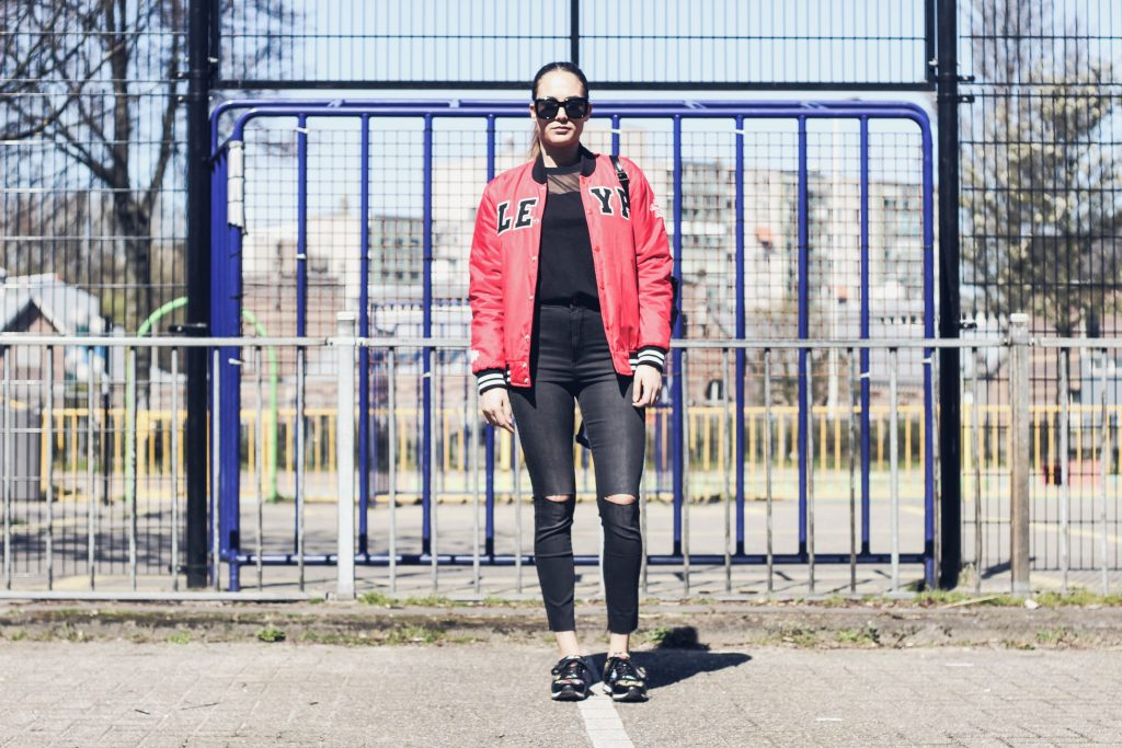 outfit post bomber jacket bulgarian fashion blog quite a looker www.quitealooker.com cinti sneakers zalando dressgal backpack polette sunglasses
