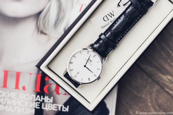 Daniel Wellington Dapper Reading 34mm review by Bulgarian fashion blogger Quite a Looker