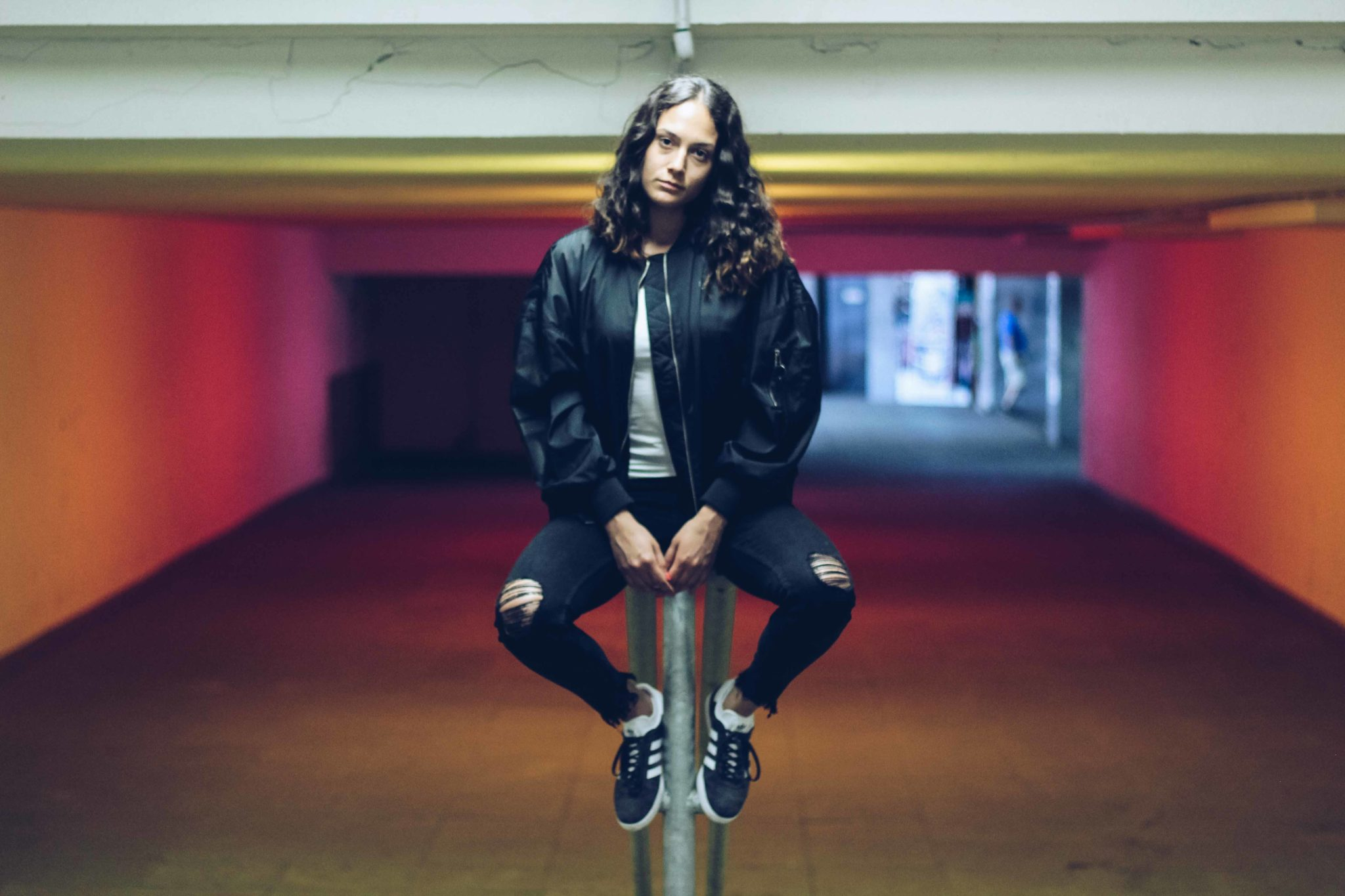outfit post fila bomber jacket zara cropped jeans adidas gazelle bulgarian blogger bulgarian fashion blog quite a looker