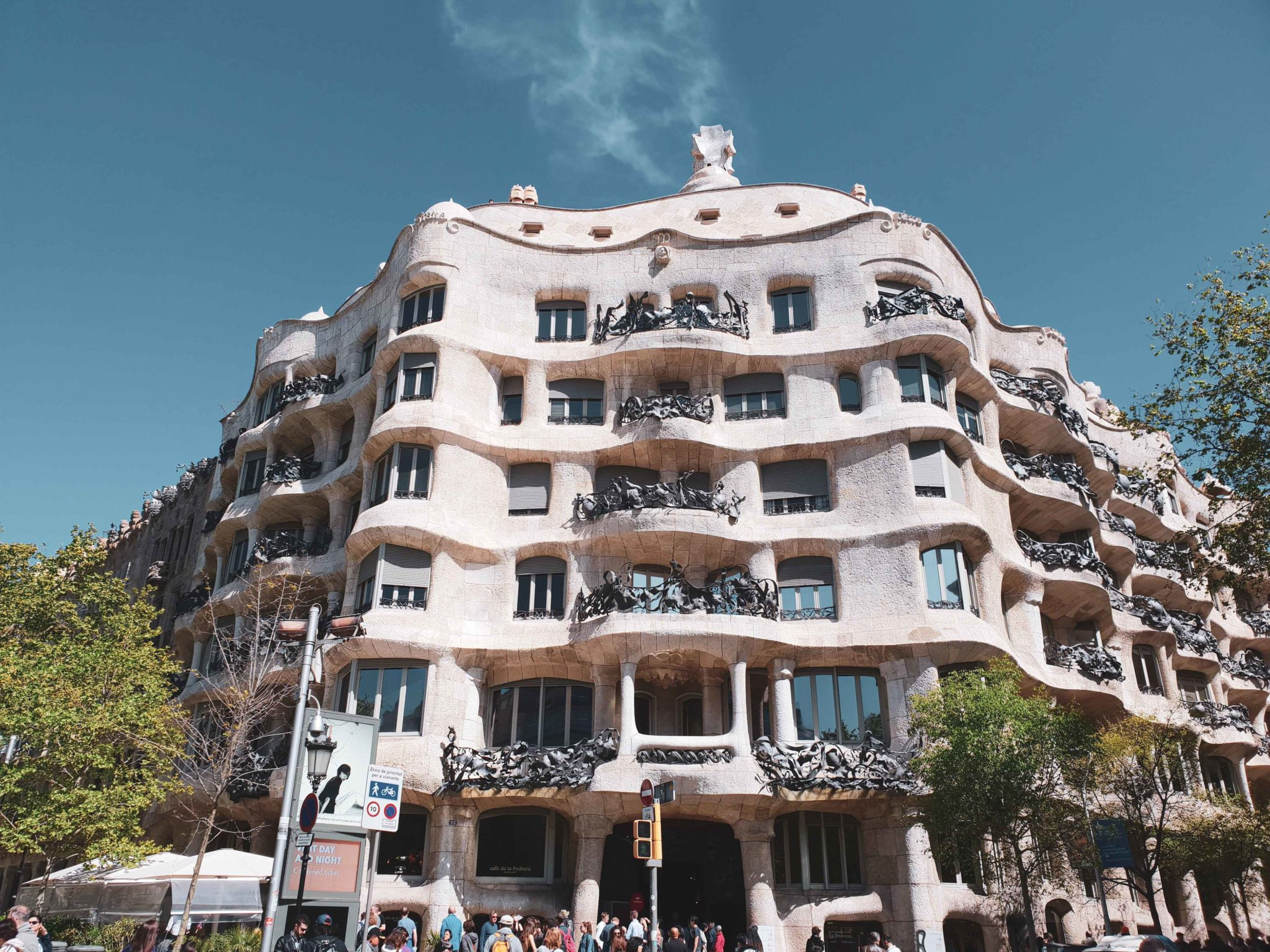 Barcelona travel guide by Michaella and Lina from Bulgarian lifestyle blog Quite a Looker / La Pedrera