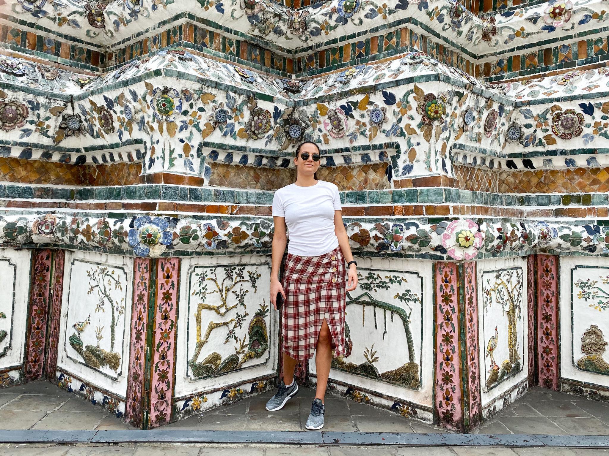 Храмът Уат Арун Wat Arun - Забележителности в Банкок, пътеводител Банкок, пътуване до Банкок, Тайланд, какво да правя 3 дни в Банкок, съвети от блогър Михаела от quite a looker