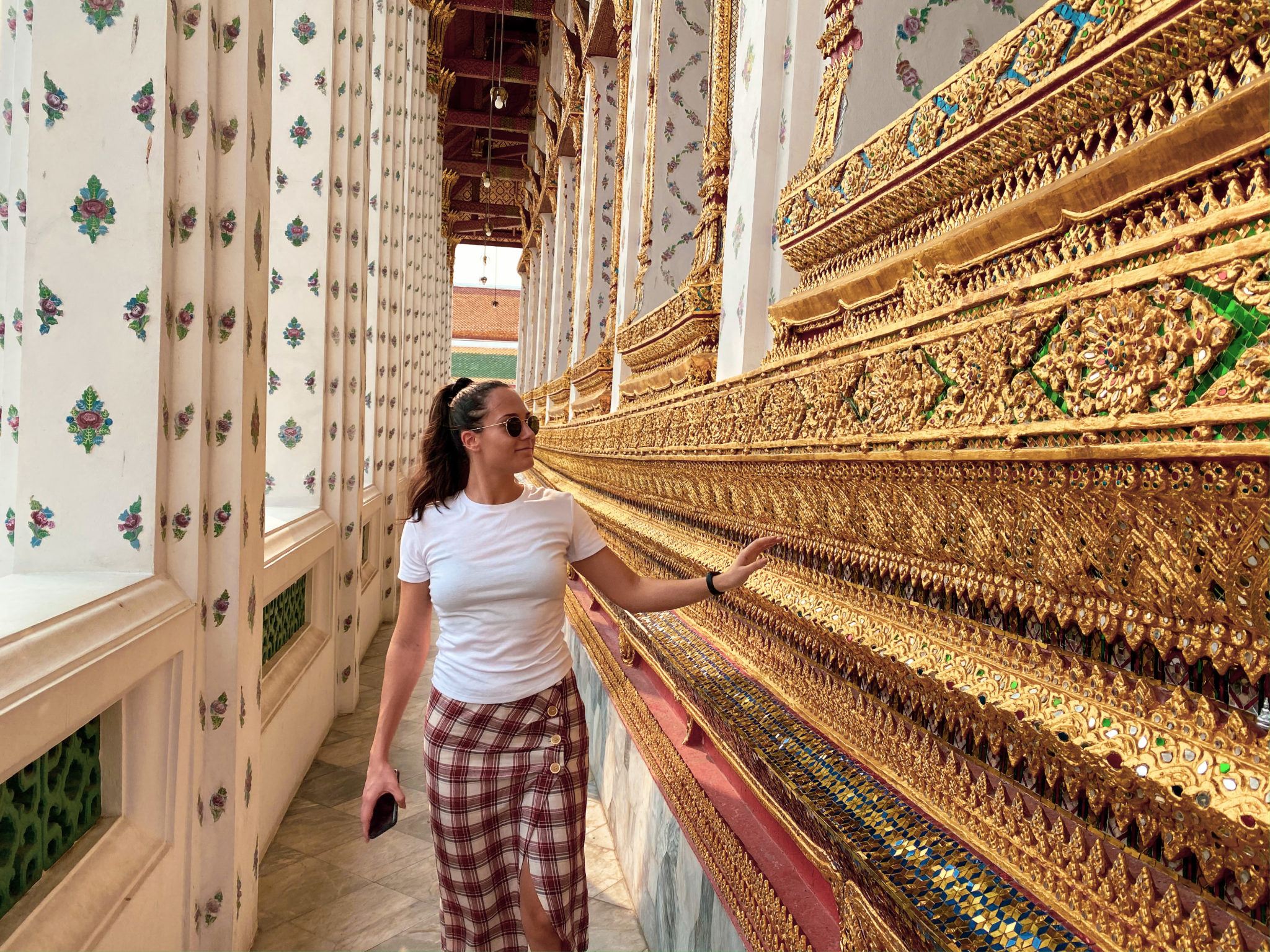 Wat Arun Ratchavararam - 3 days itinerary in Bangkok, Thailand - Travel blogger Michaella from Quite a Looker review sightseeing